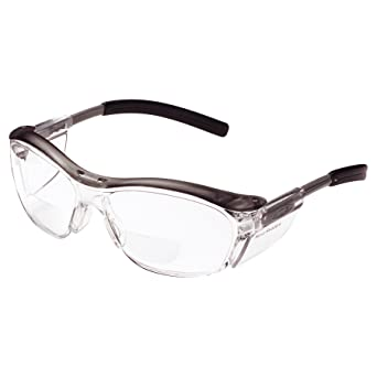 52d44b04c902 2.0 Diopter AOSafety Nuvo Reader Safety Glasses - Clear Lens