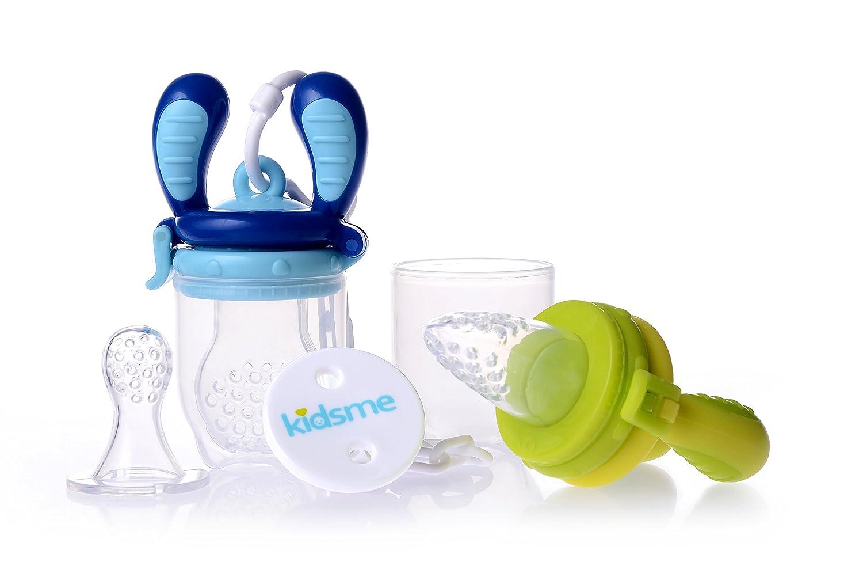 Kidsme Food Feeder Starter Pack (Lime and Aquamarine) C6604
