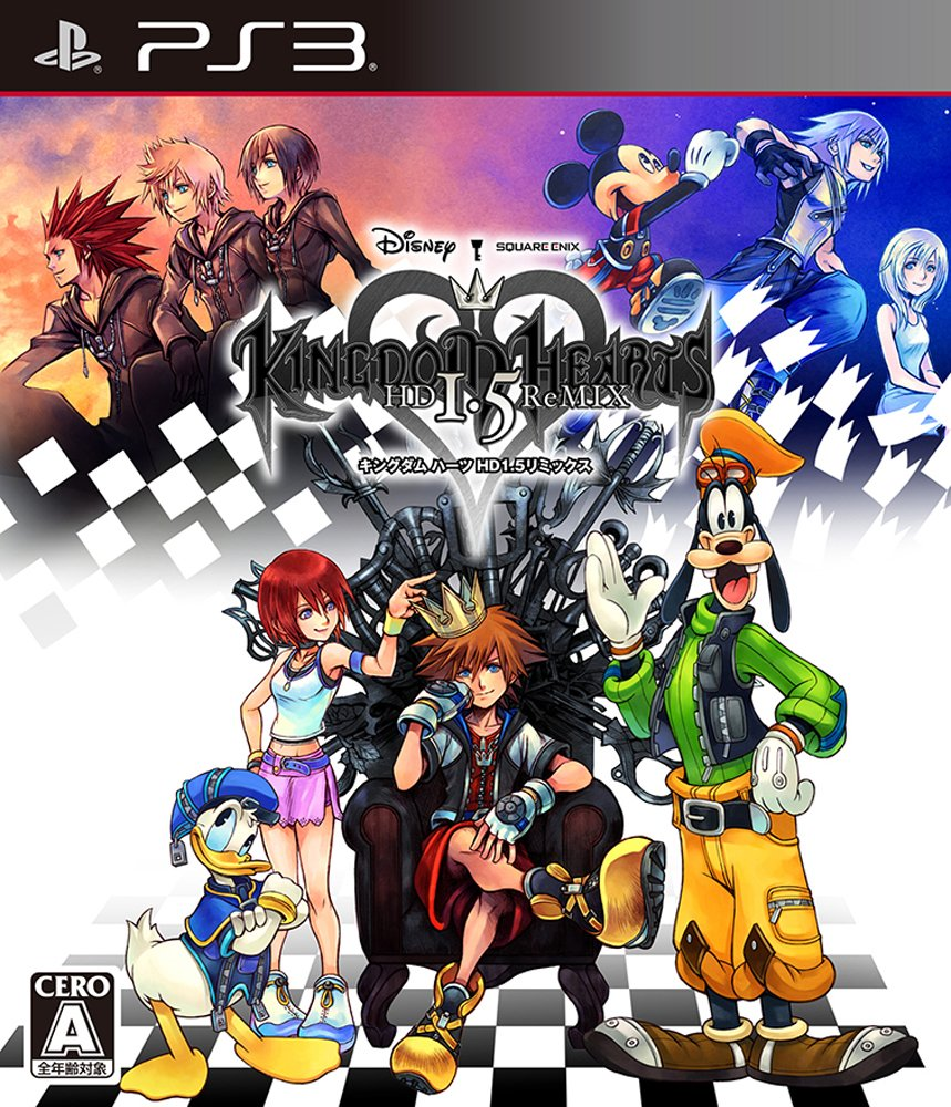 Kingdom Hearts HD 1.5 ReMIX [Japan Import]