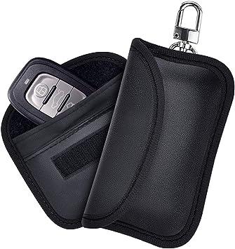 Etmury Keyless Go Schutz Autoschlüssel Autoschlüssel Sschutz Keyless Hülle 2 Pack Rfid Schlüsseltasche Autoschlüssel Keyless Go Schutzhülle Koffer Rucksäcke Taschen