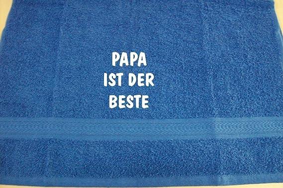 ShirtShop-Saar Papa ist der Beste; Handtuch