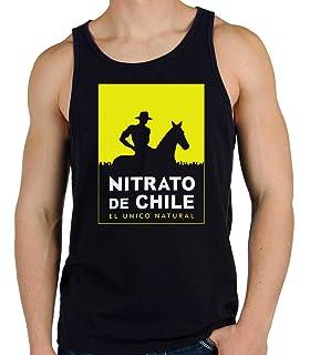 35mm - Camiseta Hombre Tirantes Nitrato De Chile-Retro 80s