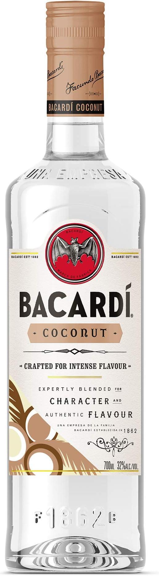 Bacardi Coconut Rum 1x70 Cl 32%: Amazon.es: Alimentación y ...