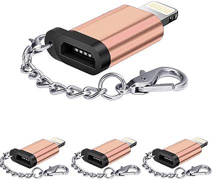 Amazon.com: HDSHIMAO - Adaptador micro USB (aleación de ...