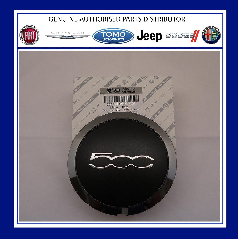 PSA GENUINE New Fiat 500 Alloy Wheel Centre Cap/Trim Qty 51884863 x1