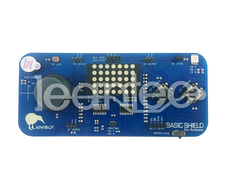 Kit Arduino + Kiwibot Basic Shield + HC-SR04 + HC-06. Robotica y programacion educativa. Compatible con S4A. Arduino incluido.: Amazon.es: Electrónica