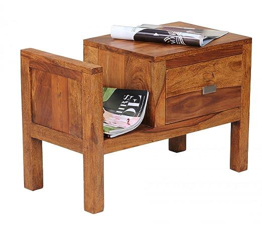 Links 99500800 Casa de noche Mesa de madera sheesham - Mueble con ...