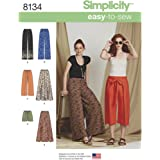 Simplicity Patterns 8134 Misses' Easy-to-Sew Pants Shorts