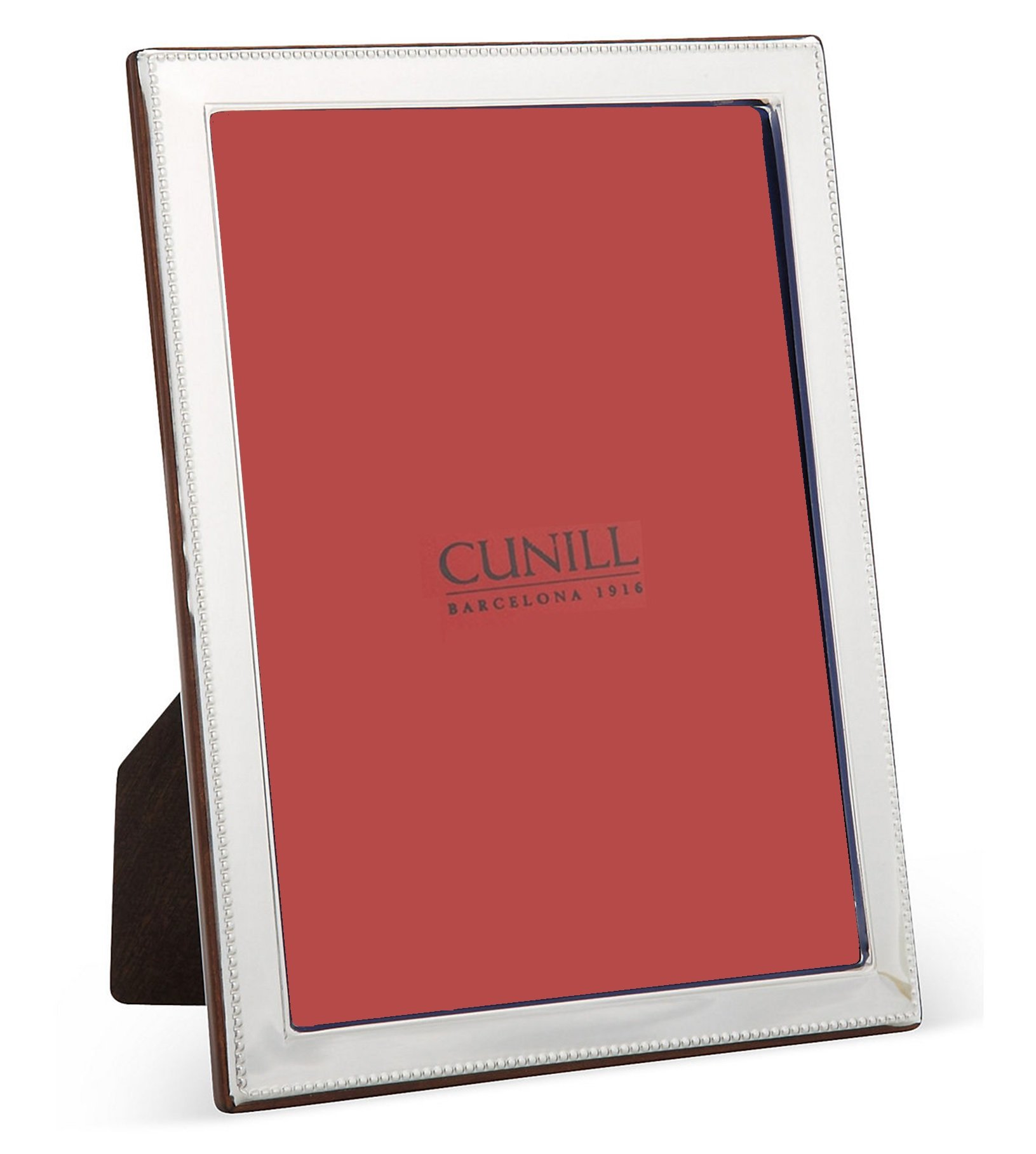 Cunill 189357 Bead Bevel 5x7 Frame Sterling Silver Picture Frame