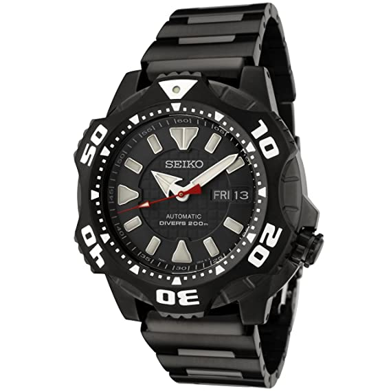Black Stainless Steel Superior Starfish Diver Automatic: Amazon.es: Relojes