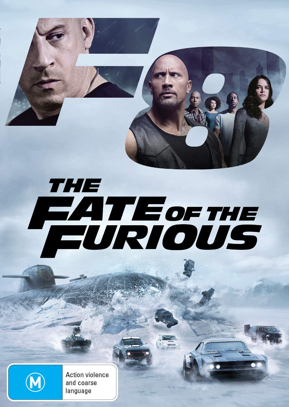 Amazon.com: Fast & Furious 8 [DVD]: Dwayne Johnson, Michelle Rodriguez, Vin  Diesel, Jason Statham, F. Gary Gray: Movies & TV