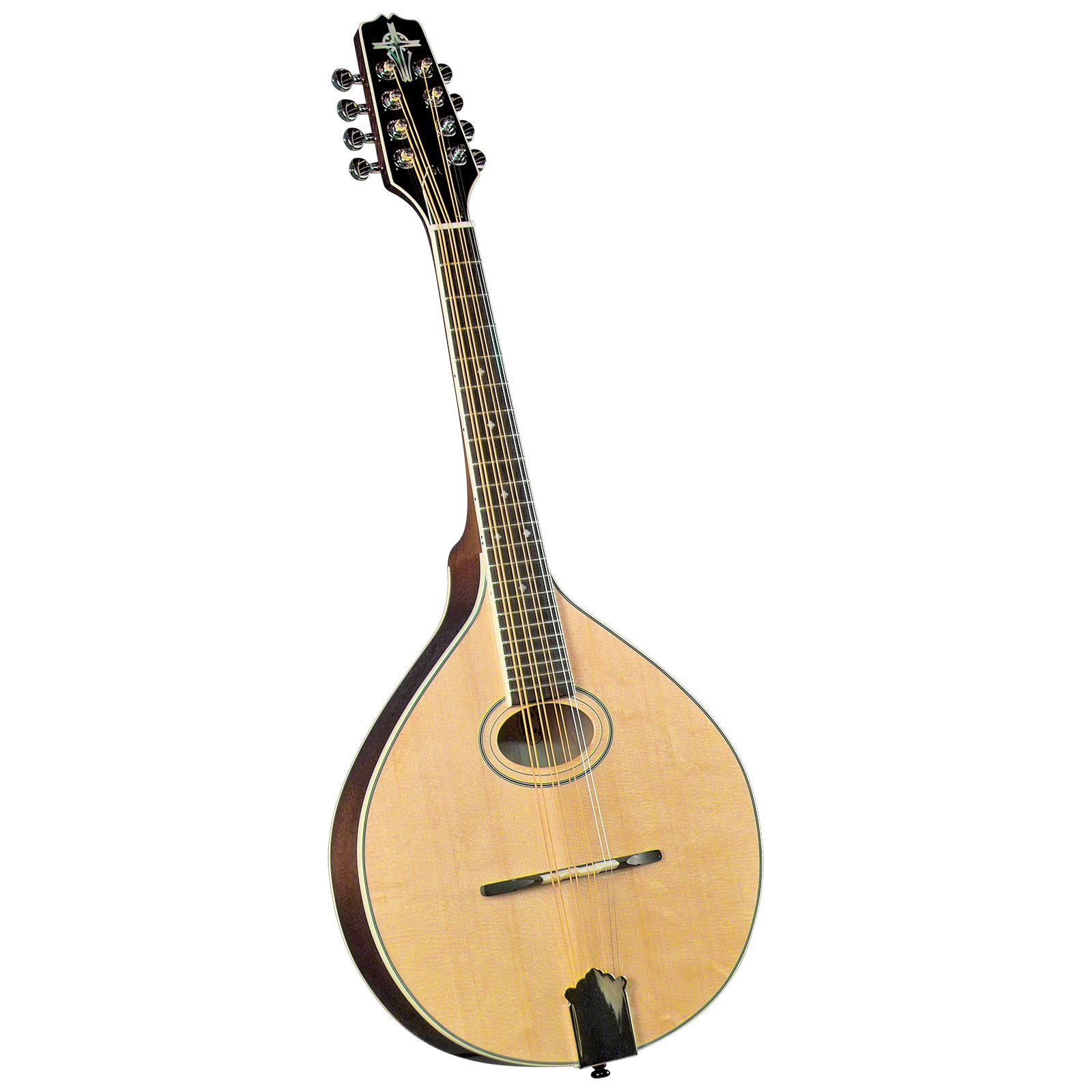 Trinity College TM-275 Standard Celtic Mandola with Hardshell Case - Natural Top