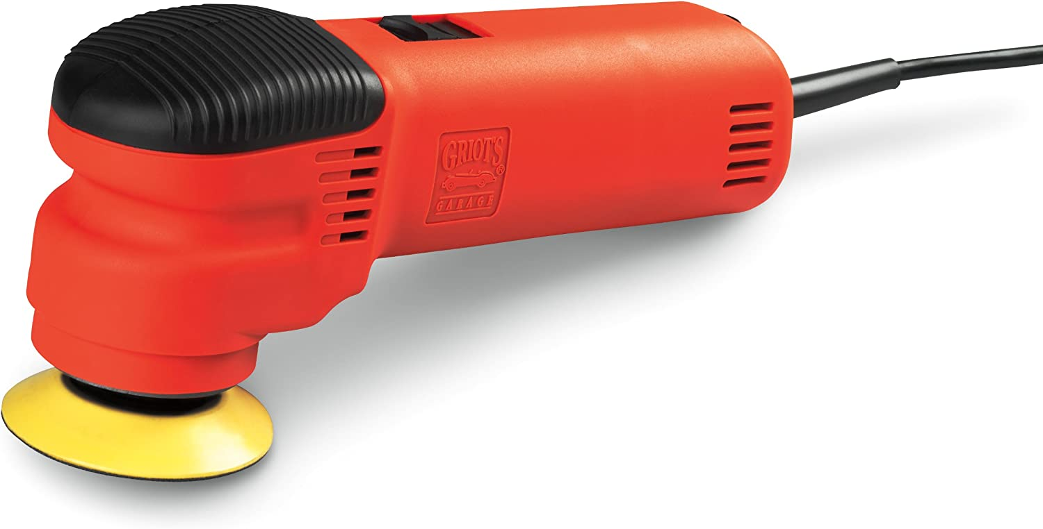 """Griot's Garage 10739STDCRD 10ft 3"""" Dual Action Random Orbital Polisher with 10' Cord"""