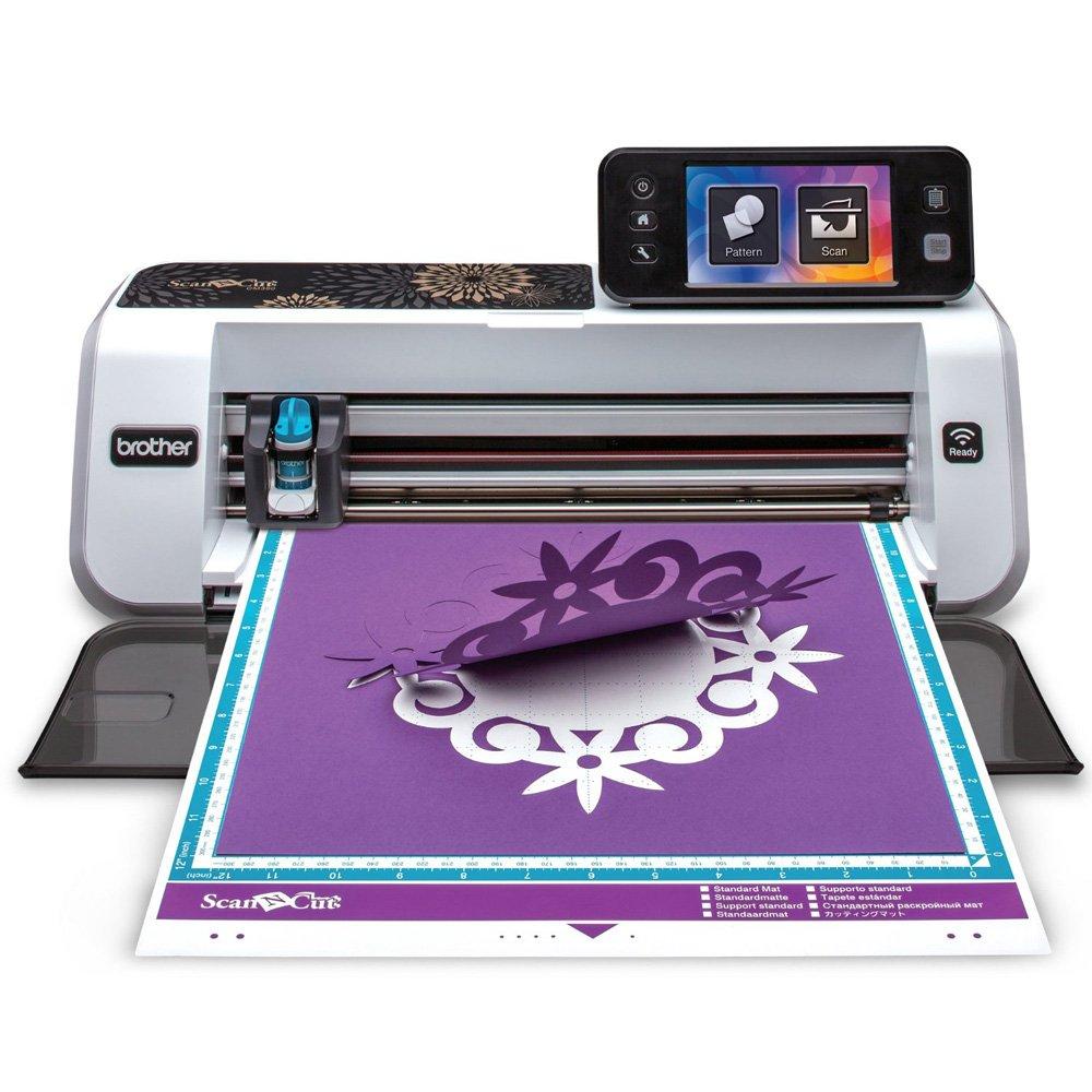 Brother ScanNCut 2 Scan n Cut Machine Rainbow Vinyl Transfer Paper Hook Designs Brother International 4336978764