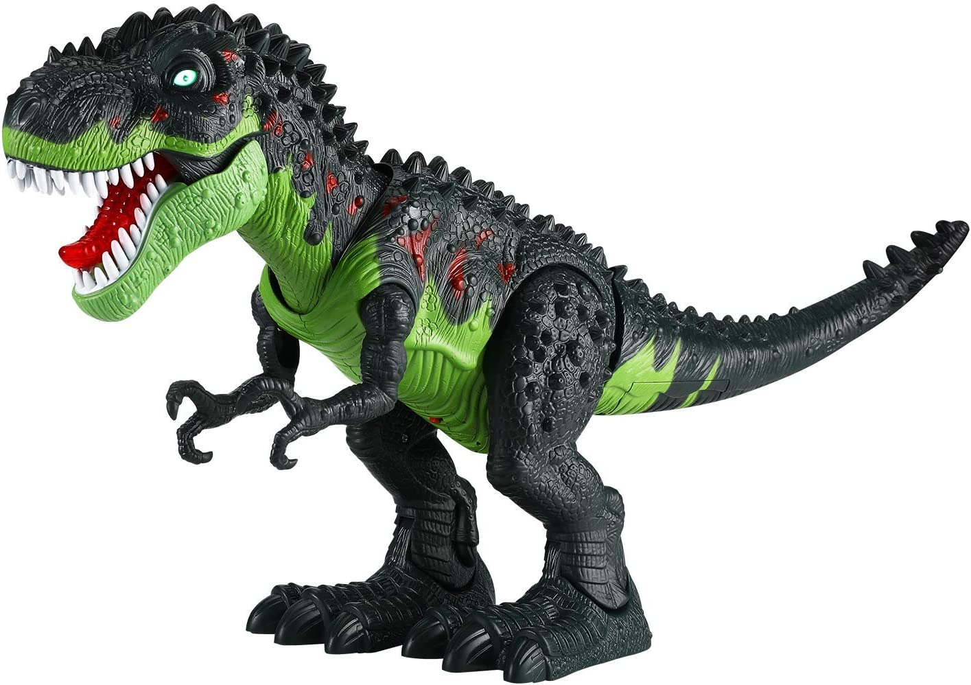 Amazon Com Tuko Jurassic World Dinosaur Toys Led Light Up Walking And Roaring Realistic T Rex Dinosaur Toys For 3 12 Years Old Boys And Girls Dino Toys Games Shop the top 25 most popular 1 at the best prices! tuko jurassic world dinosaur toys led light up walking and roaring realistic t rex dinosaur toys for 3 12 years old boys and girls dino