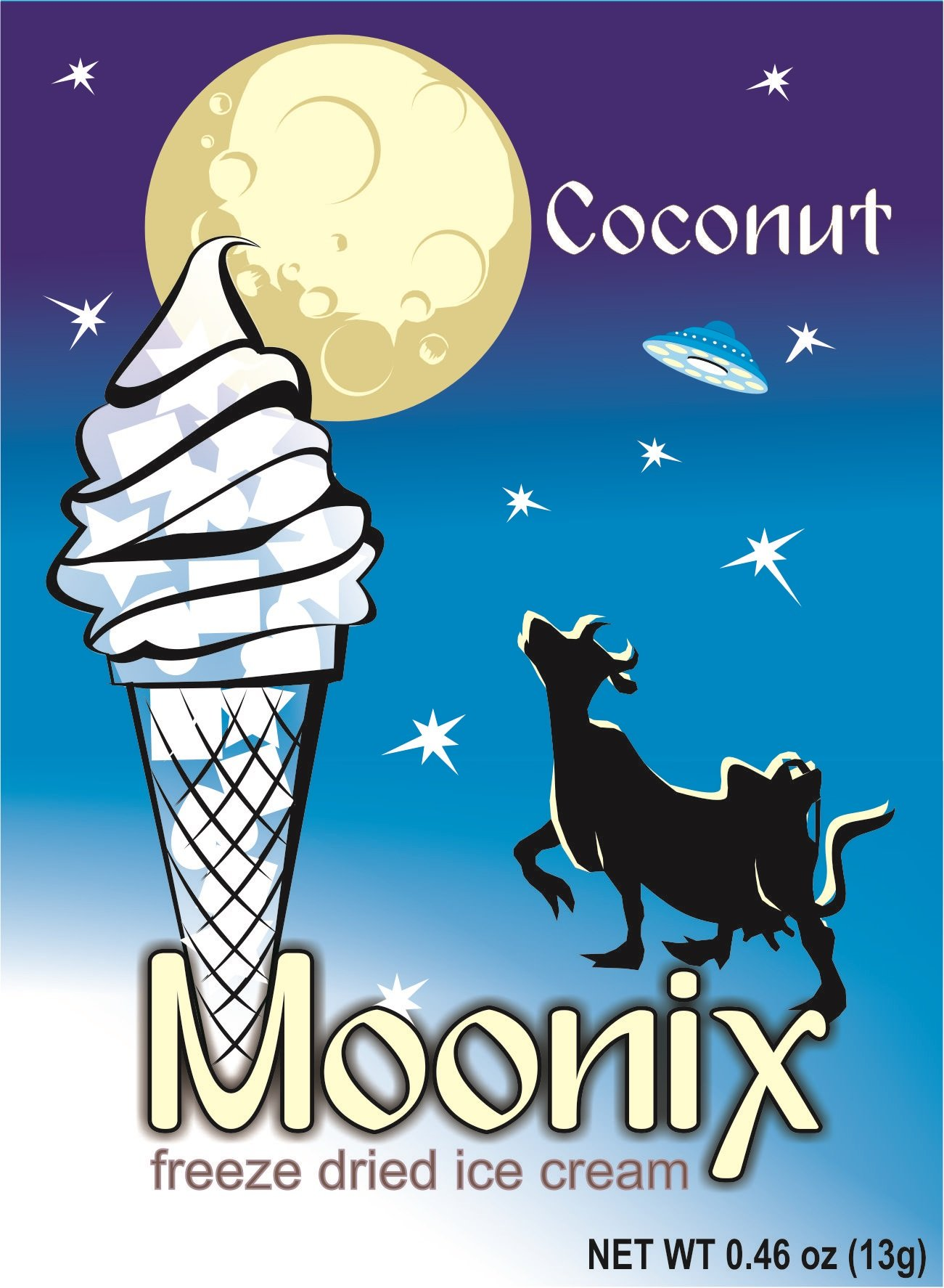 Moonix Freeze Dried Ice Cream (Coconut)