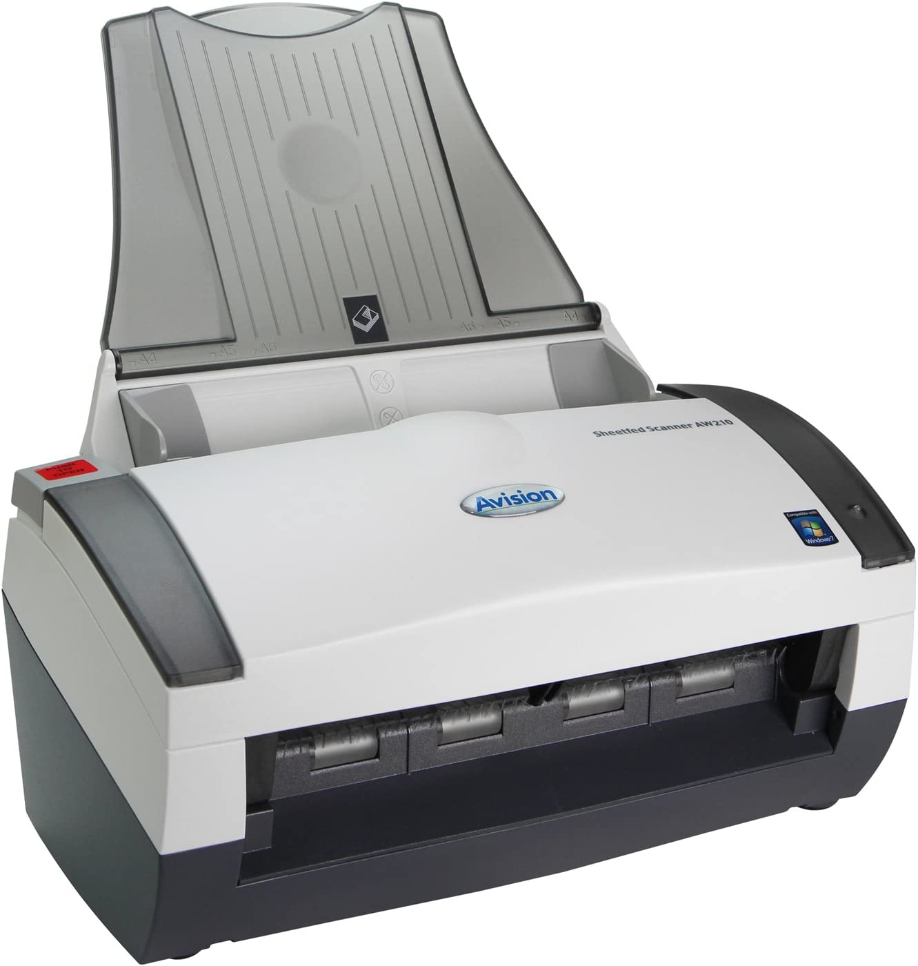 Avision AW210 is a simplex sheetfed Color Scanner with The Best Document and Paper handling Functions.
