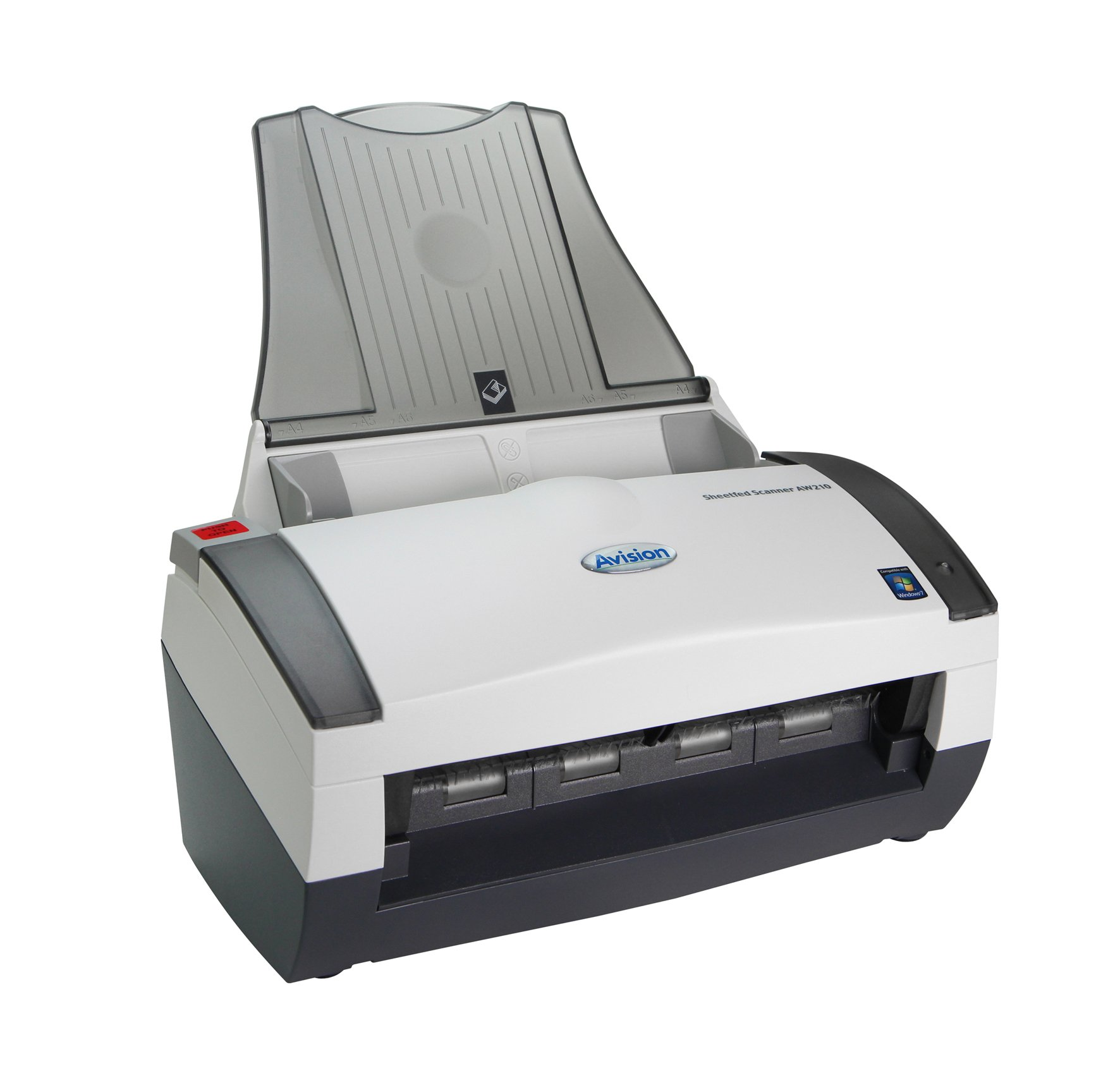 Avision AW210 Color Simplex 34ppm CCD Sheetfed Scanner 8.5'' x 14'' Best Document and Paper Handling