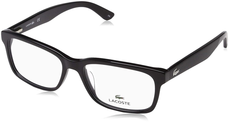 b3762ed9f82a Amazon.com  LACOSTE Eyeglasses L2672 001 Black 54MM  Clothing