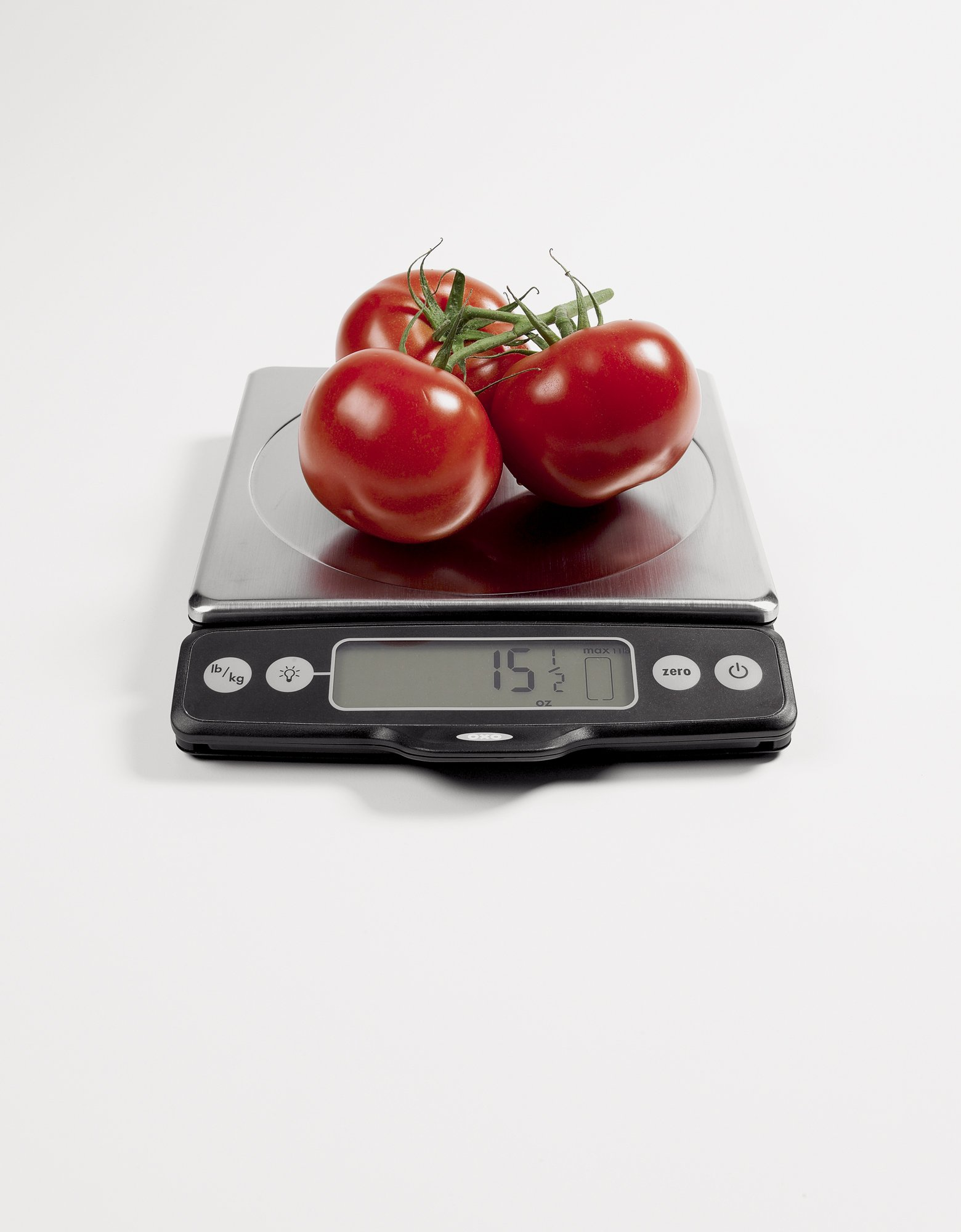 OXO Good Grips Stainless Steel Food Scale with Pull-Out Display, 11-Pound NEWER VERSION AVAILABLE by OXO (Image #2)