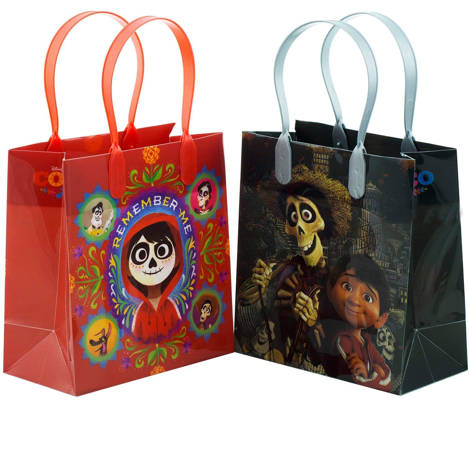 Disney/Pixar Coco Premium Quality Party Favor Reusable Goodie/Gift/Bags 12 Pieces by Disney