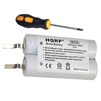 Amazon.com: HQRP – Batería para Philips Norelco 4625 X 4805 ...