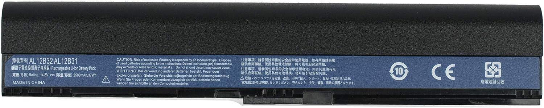 Yafda AL12B32 4-Cell New Laptop Battery for Acer Aspire One 725 756 Aspire V5-121 V5-131 V5-171 TravelMate B1 B113 B113-E B113-M Chromebook C7/AC710 Series 14.8V37Wh/2500mAh