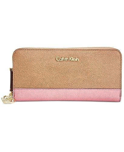 Calvin Klein - Cartera para mujer mujer beige Cashmere: Amazon.es: Zapatos y complementos