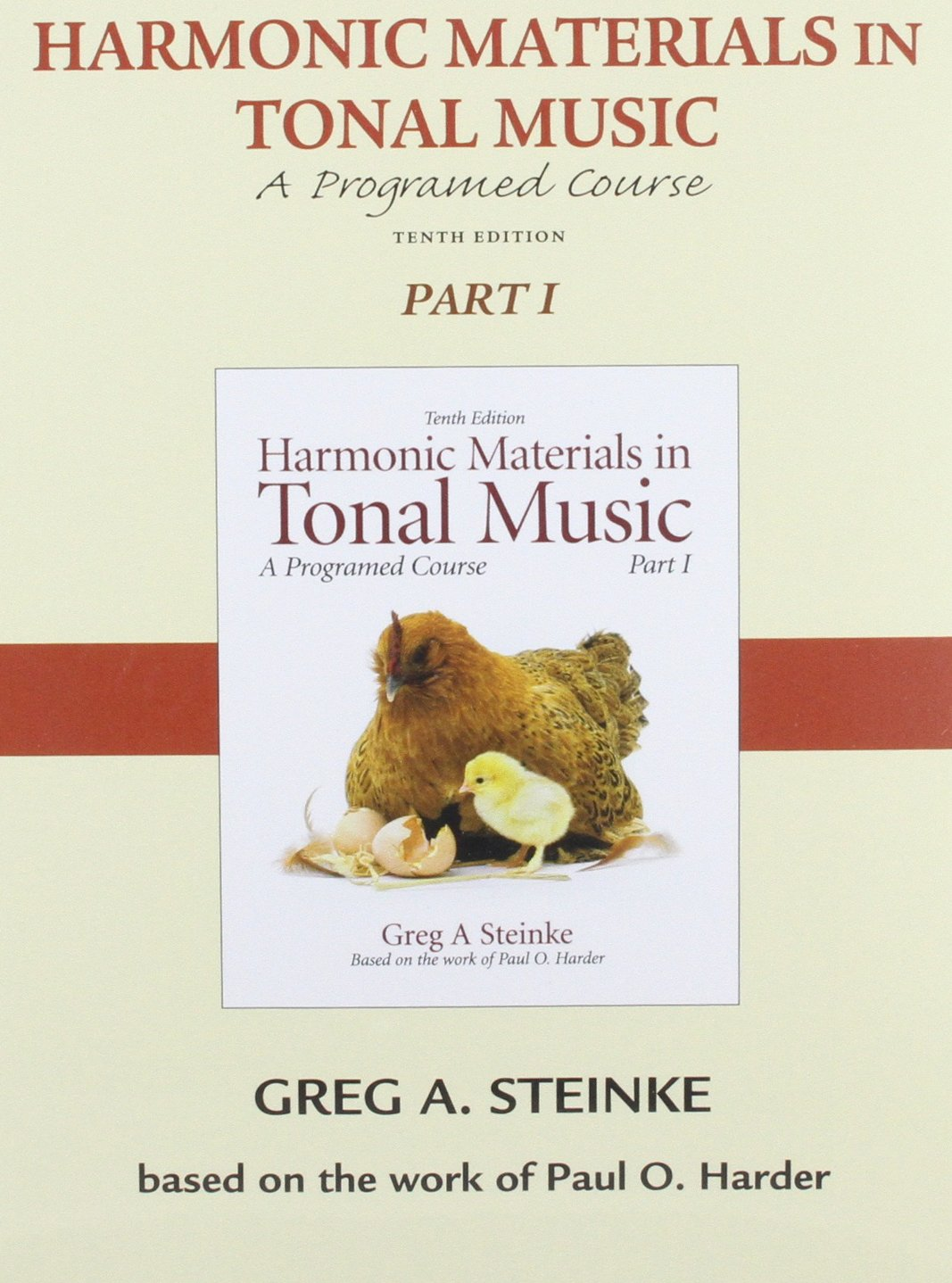Audio CD for Harmonic Materials in Tonal Music, Part 1 (Pt. 1) by Brand: Pearson