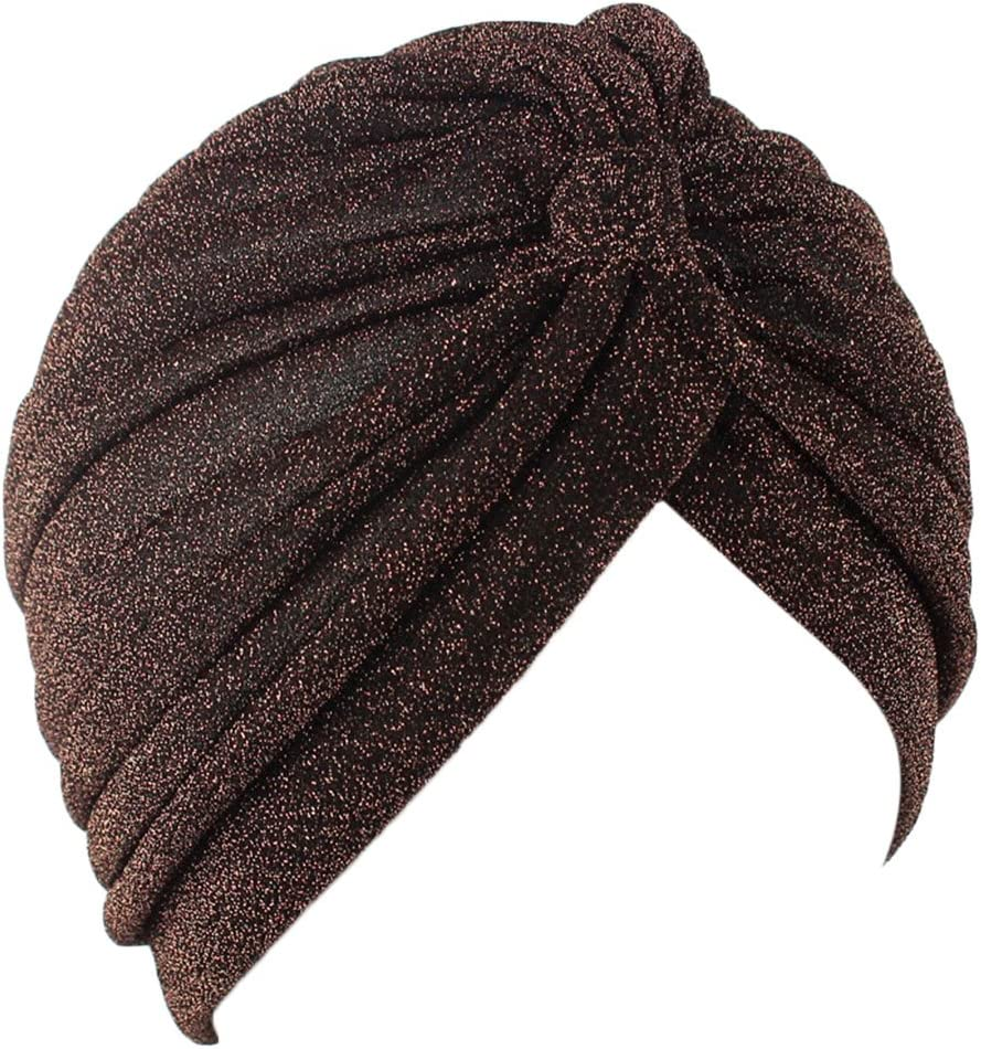 Cappello a Turbante da Donna con Velo Musulmano C Haptian