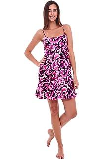 c6a582706f Del Rossa Womens Satin Bridesmaid Gift Nightgown