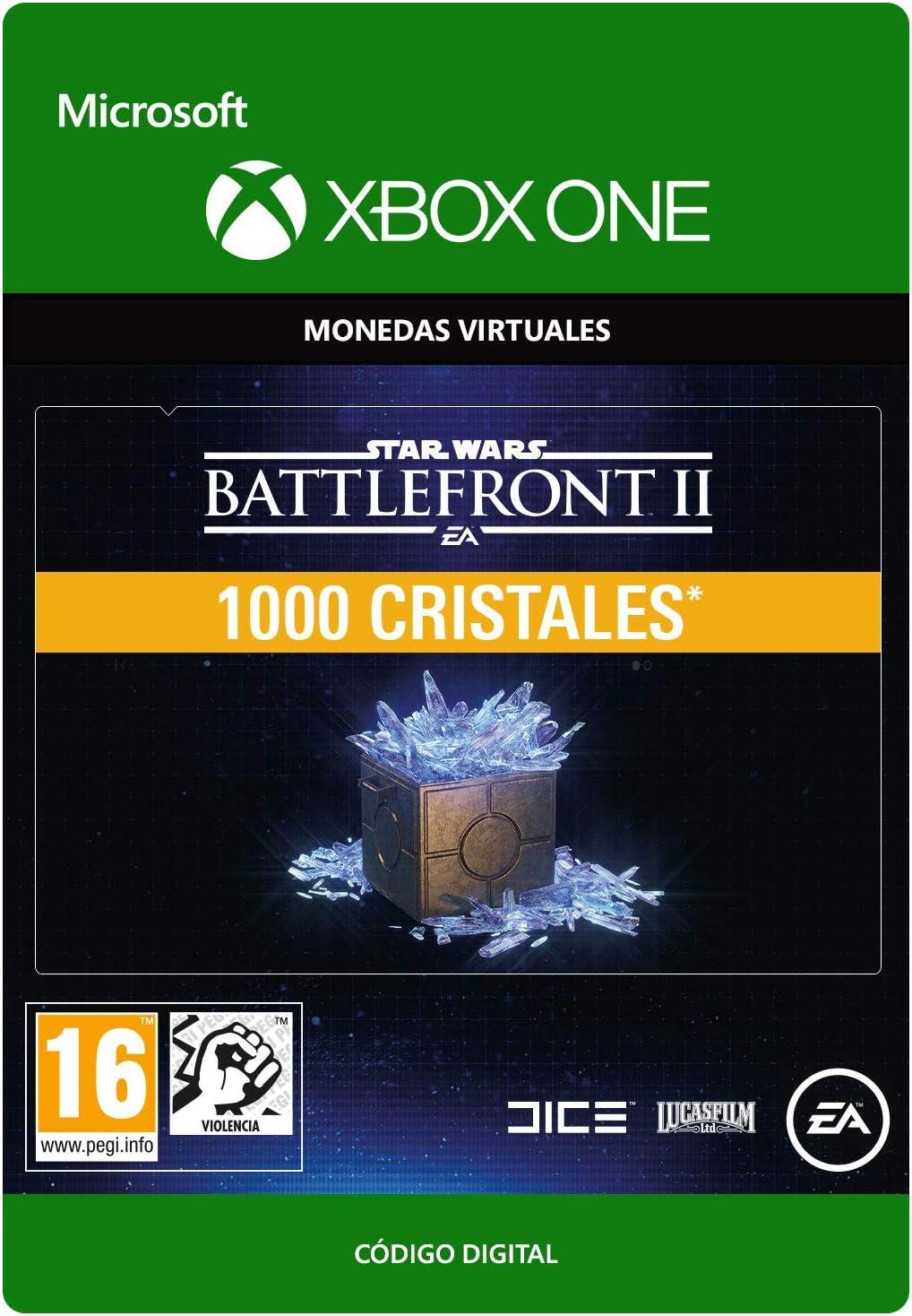 STAR WARS BATTLEFRONT II 1000 CRYSTALS - Xbox One - Código de ...