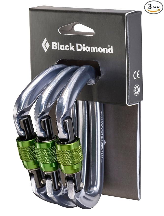 Best Locking Carabiner Black Diamond Positron Screwgate 3 Pack