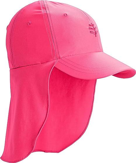 c7bd5be2e7281d Coolibar UPF 50+ Kids' Surfs Up All Sport Hat - Sun Protective (Small