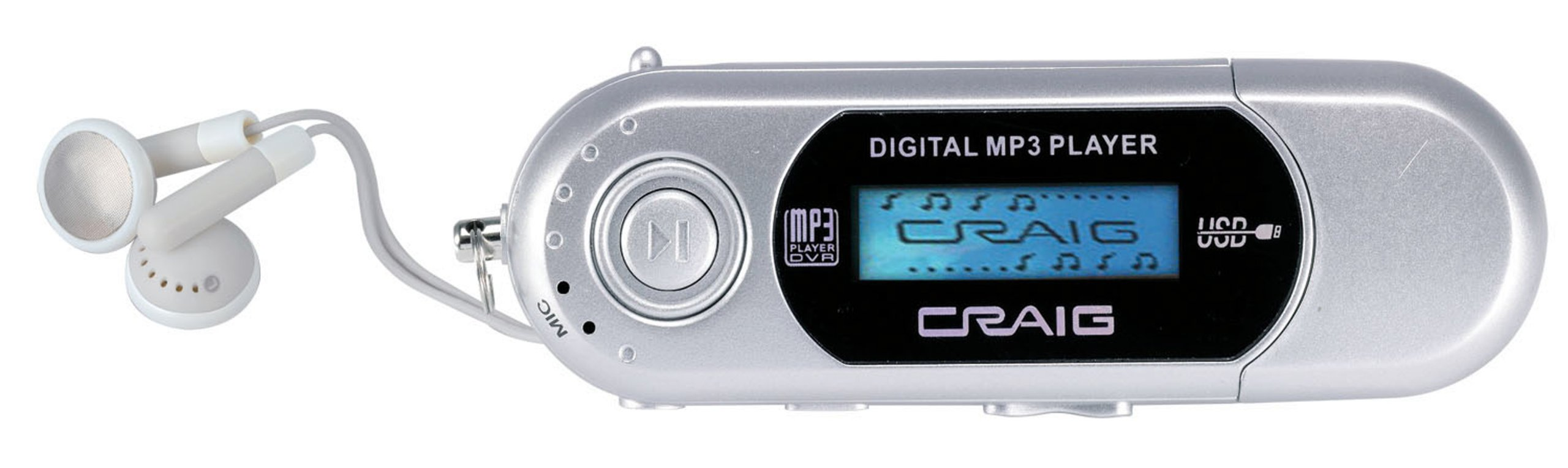 Craig CMP1230F 4 GB MP3 Player with Display