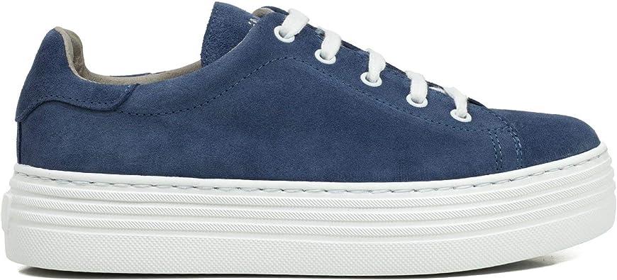 Zapatilla Sneaker Extralight Plataforma Azul: Amazon.es: Zapatos y ...