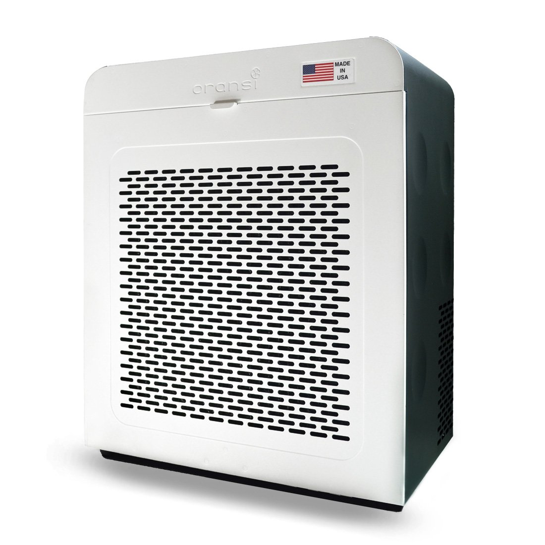 Oransi V HEPA Max Air Purifier_Oransi EJ120 HEPA Air Purifier with Carbon Filter, White/Black
