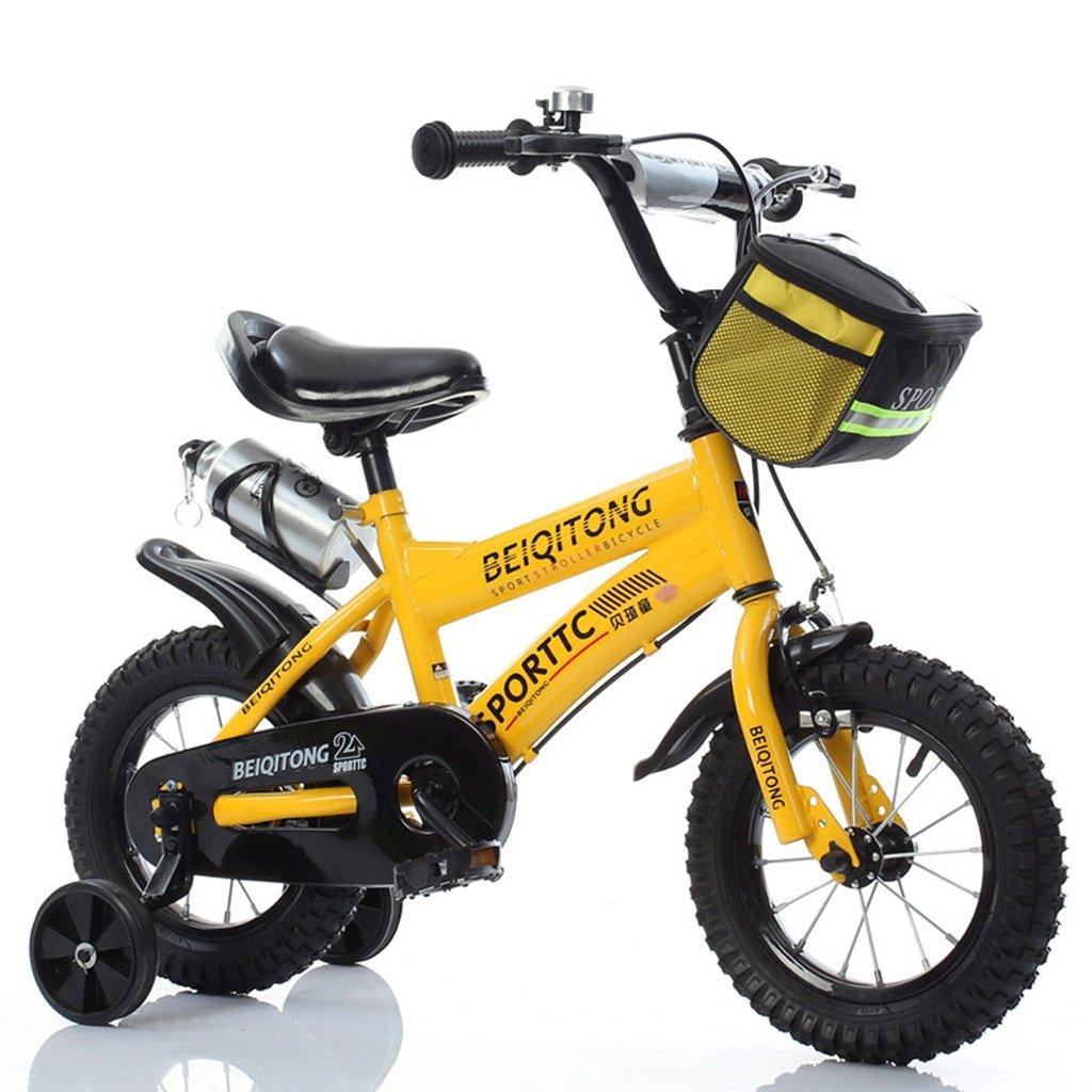 赤ちゃんの自転車、少年の自転車の少女の自転車の自転車自転車の自転車の自転車の車輪の直径30-42CM (色 : イエロー いえろ゜, サイズ さいず : 121CM) B07D6PMBF8 121CM|イエロー いえろ゜ イエロー いえろ゜ 121CM