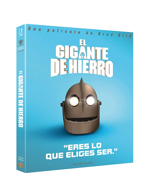 El Gigante De Hierro - Signature Edition Blu-Ray - Iconic [Blu-ray]