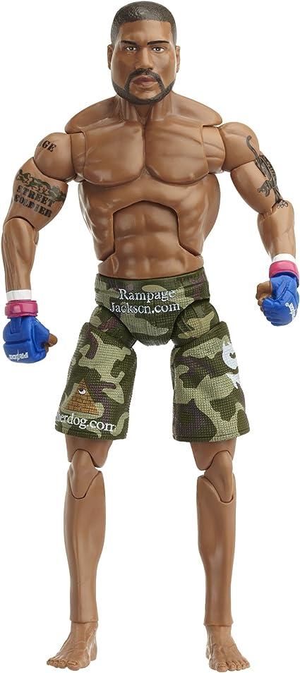 Amazon Com Ufc Deluxe Figures 5 Rampage Jackson Pride Toys
