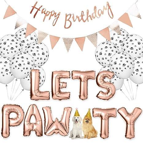 smileyshy - Globos para Fiestas de cumpleaños para Perros ...
