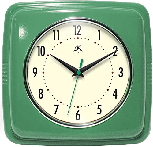 Infinity Instruments Square Clock