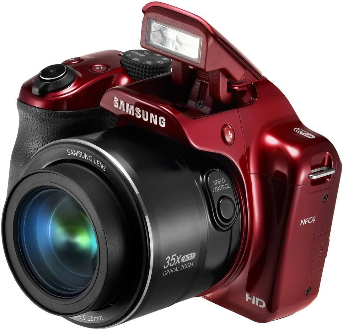 Samsung WB1100 F 16,2 MP Cmos Smart WiFi y NFC Cámara Digital con ...