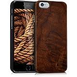 kwmobile Apple iPhone 6 / 6S Cover - Custodia Protettiva in Legno - Back Case Posteriore per Smartphone Apple iPhone 6 / 6S