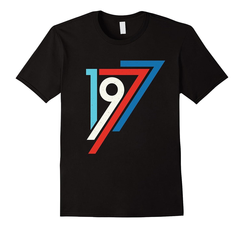 Retro Vintage 1977 - 40th Birthday T-Shirt-BN