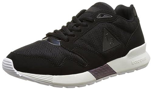 save off 21faa 0ec7f Le Coq Sportif Women s Omega X W Oil Low-Top Sneakers, Black, 36 36