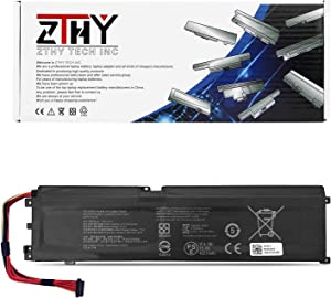 ZTHY RC30-0270 Laptop Battery for Razer Blade 15 Base 2018 2019 GTX 1660 Ti RZ09-0270 RZ09-02705E76 RZ09-02705E76-R3U1 RZ09-02705E75-R3U1 RZ09-0300 RZ09-03006 RZ09-03009 RZ09-03006E92 15.4V 65Wh