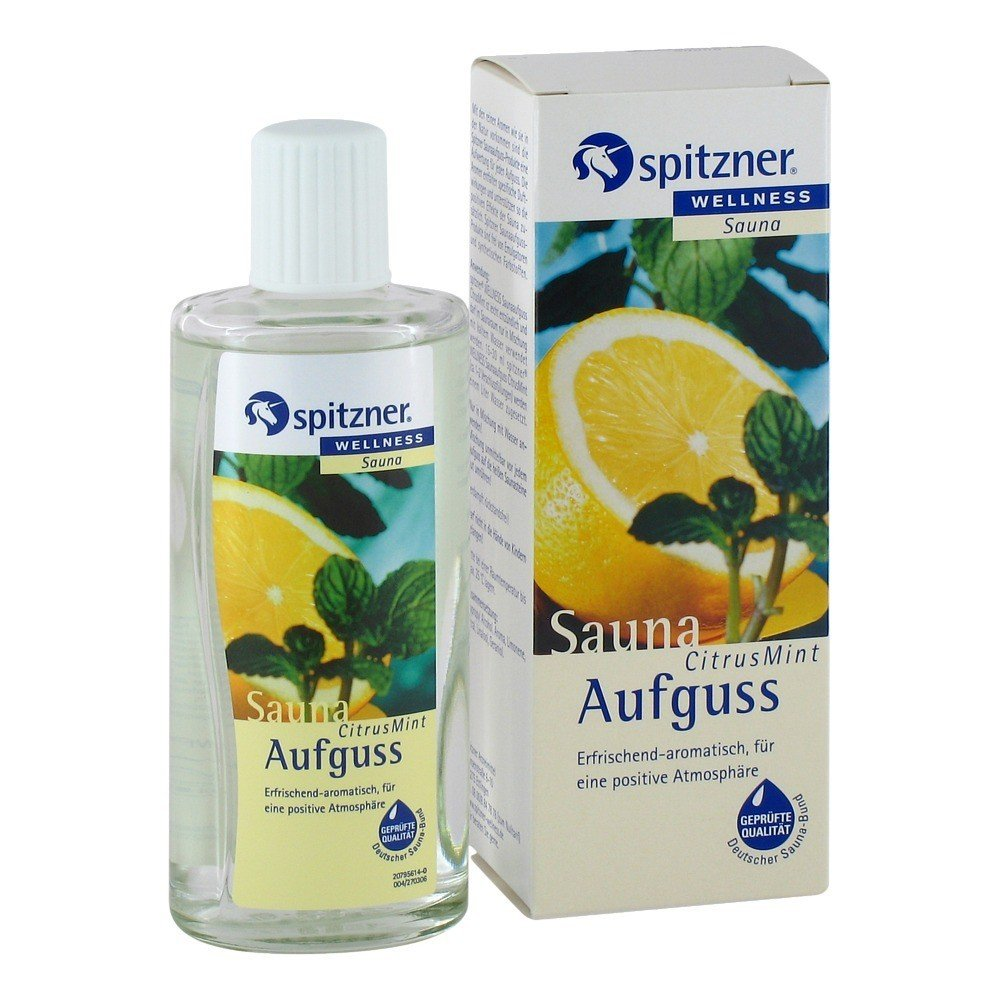 Citrus & Mint Sauna Infusion (190 ml) from Spitzner