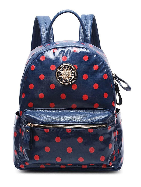 Keshi PU Fashion College School Laptop Backpack -Straps Reinforced