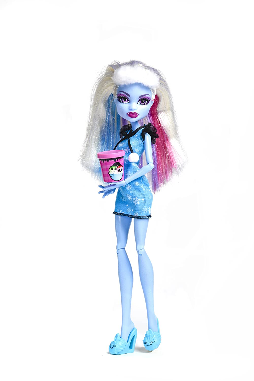 amazoncom monster high dead tired abbey bominable doll toys games